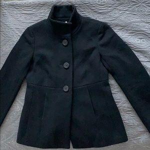 Adorable short Wool pea coat
